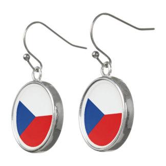 Czech Republic Flag Earrings