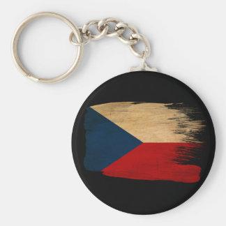 Czech Republic Flag Key Ring