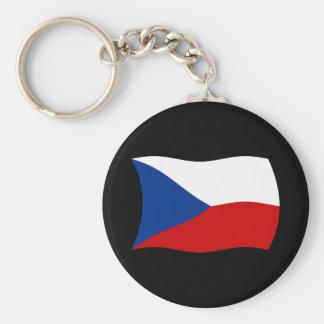 Czech Republic Flag Keychain