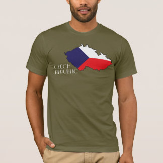 Czech Republic Flag-Map Shirt
