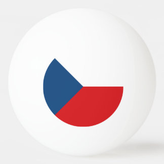 Czech Republic Flag Ping Pong Ball