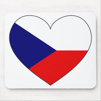 Czech Republic Flag Simple Mouse Mat