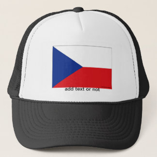 Czech Republic flag souvenir hat