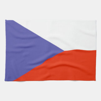 Czech Republic Flag Tea Towel