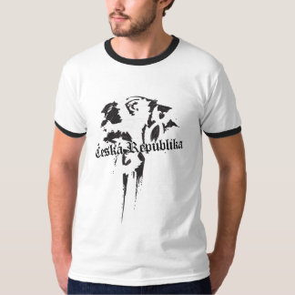 Czech Republic grunge T-Shirt