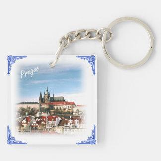 czech republic-Prague and castle keychain