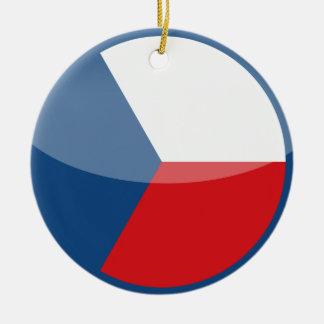 czech republic round ceramic decoration