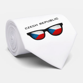 Czech Republic Shades custom text & color tie