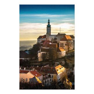 Czech Republic Skyline Stationery