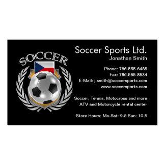 Czech Republic Soccer 2016 Fan Gear Pack Of Standard Business Cards