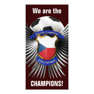 Czech Republic Soccer Champions Picture Card