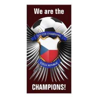 Czech Republic Soccer Champions Picture Card