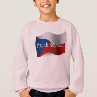 Czech Republic Waving Flag Tee Shirts