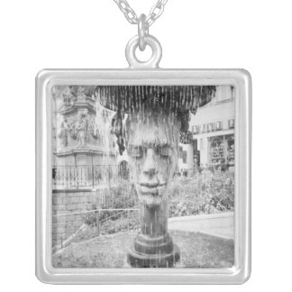 CZECH REPUBLIC, West Bohemia, Karlovy Vary Silver Plated Necklace