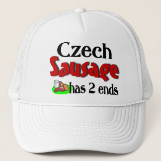 Czech Sausage Has 2 Ends Trucker Hat