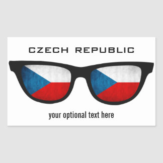 Czech Shades custom stickers