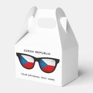 Czech Shades custom text & color favor box