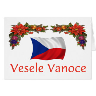 Czech Vesele Vanoce (Merry Christmas) Card
