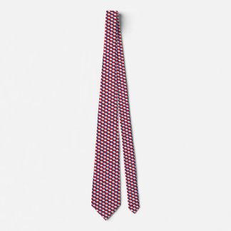 Czechia Flag Honeycomb Tie
