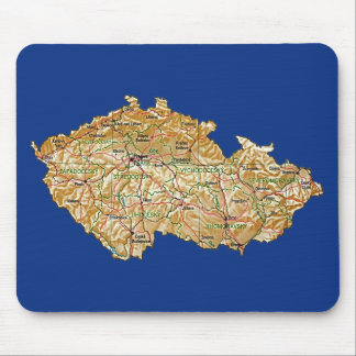 Czechia Map Mousepad