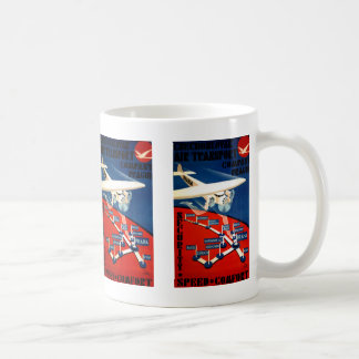 Czechoslovak Air Transport Basic White Mug