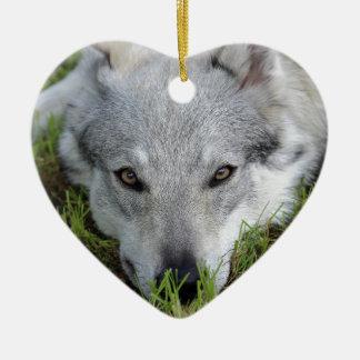 Czechoslovakian Wolfdog Christmas Ornament