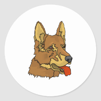 Czechoslovakian Wolfdog Sticker