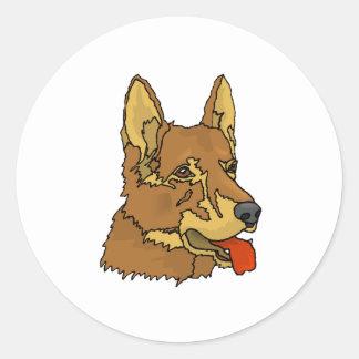 Czechoslovakian Wolfdog Stickers