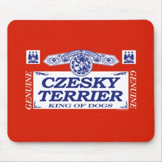 Czesky Terrier Mouse Pads