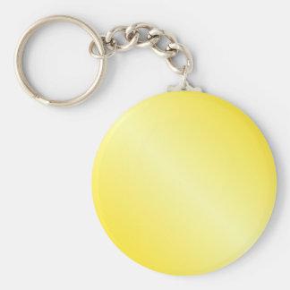 D1 Bi-Linear Gradient-Dark Yellow and Light Yellow Keychains