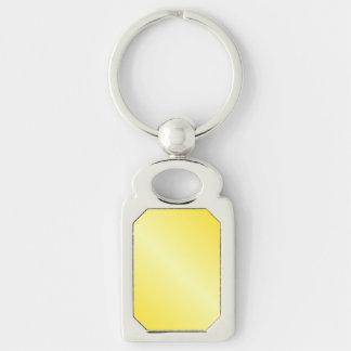 D1 Bi-Linear Gradient-Dark Yellow and Light Yellow Key Chain