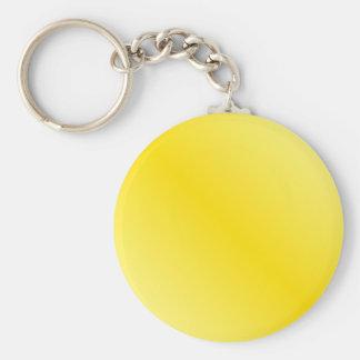 D1 Bi-Linear Gradient-Light Yellow and Dark Yellow Key Chains