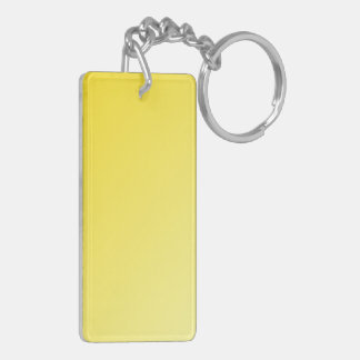 D1 Linear Gradient - Dark Yellow to Light Yellow Acrylic Key Chain