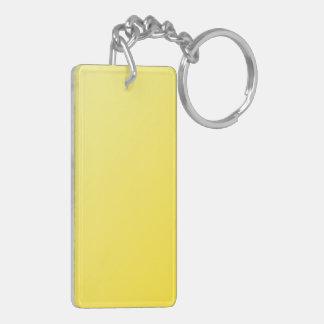 D1 Linear Gradient - Light Yellow to Dark Yellow Acrylic Keychain