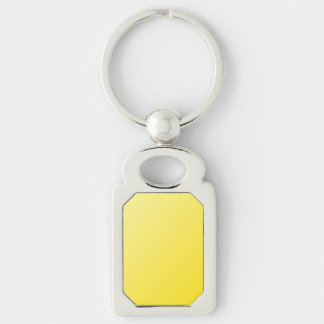 D1 Linear Gradient - Light Yellow to Dark Yellow Keychains