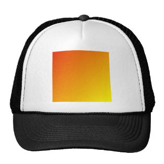 D1 Linear Gradient - Red to Yellow Trucker Hats