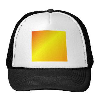 D1 Linear Gradient - Red, Yellow, Orange Mesh Hats