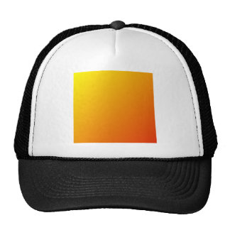 D1 Linear Gradient - Yellow to Red Trucker Hat