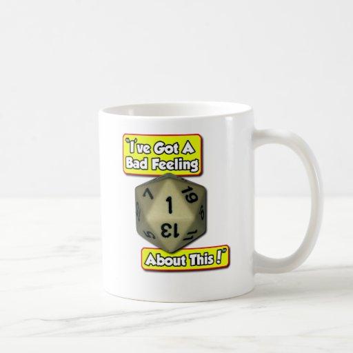 d20 Bad Feeling Mug