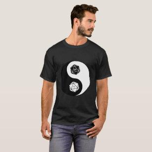D20 Yin Yang T-Shirt