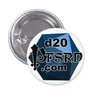 d20pfsrd.com pins. 3 cm round badge