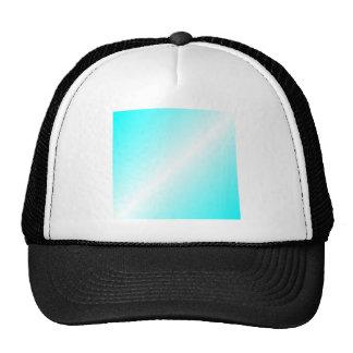 D2 Bi-Linear Gradient - Cyan and White Cap