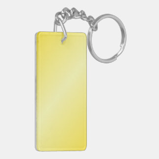 D2 Bi-Linear Gradient-Dark Yellow and Light Yellow Acrylic Keychain