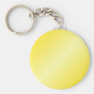 D2 Bi-Linear Gradient-Dark Yellow and Light Yellow Key Chain