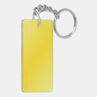 D2 Bi-Linear Gradient-Light Yellow and Dark Yellow Acrylic Key Chain