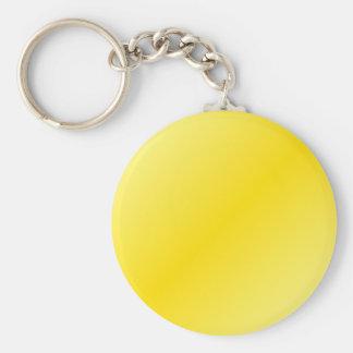 D2 Bi-Linear Gradient-Light Yellow and Dark Yellow Keychains
