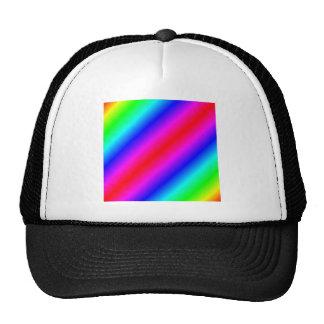 D2 Bi-Linear Gradient - Rainbow Trucker Hat