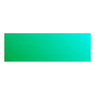 D2 Linear Gradient - Cyan to Green Business Card Templates