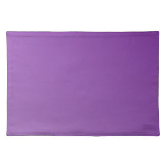 D2 Linear Gradient - Dark Violet to Light Violet Placemat