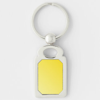 D2 Linear Gradient - Dark Yellow to Light Yellow Key Chains